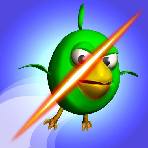 切小鸟:Cut the Birds 3D【类似切水果】
