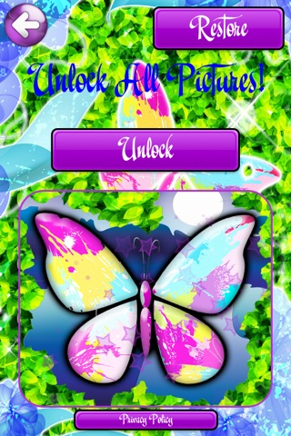 Butterfly Flutter - Coloring Pictures with Caterpillar Meadow and Dragonfly Weed Sanctuary screenshot 4