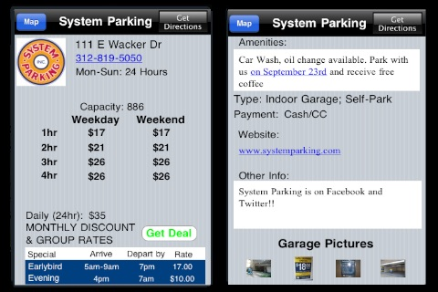 Seattle Parking screenshot 2