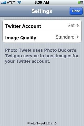 Photo Tweet LE screenshot 4