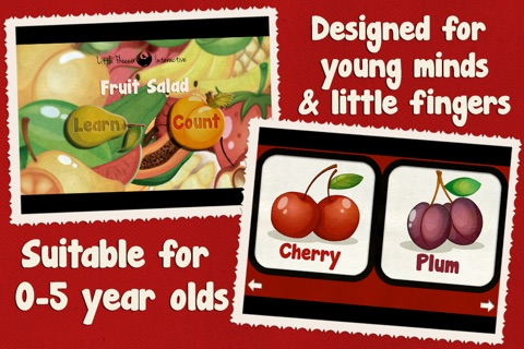 Toddler Counting 123 - Fruit Salad screenshot 3