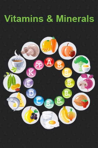 Vitamins and Minerals screenshot 1