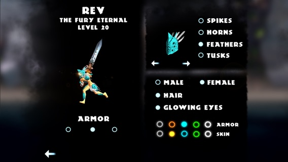 God of Blades Screenshot