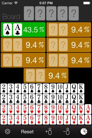 Poker Odds Calculator screenshot 4