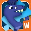 Układanka z dinozaurami icon