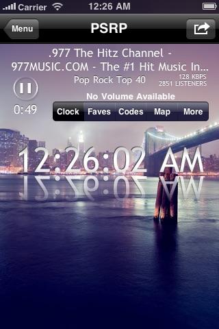 Police Scanner Radio Pro (Music & News Stations) Screenshot 1