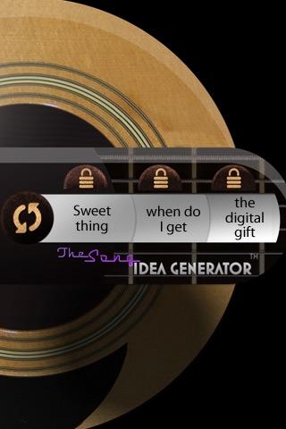 Song Idea Generator screenshot 3