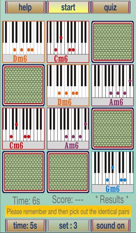 Memorise Music Chord Minor 6th By Eyefun Soft Limited