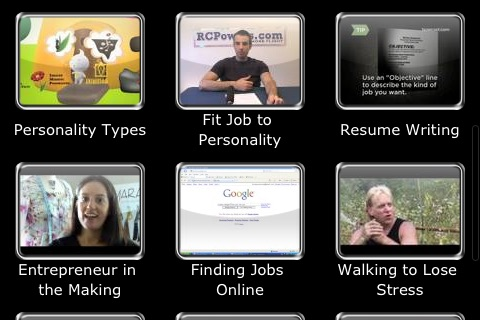 Screenshot of Job Search: Tips to Find the Best Career for You