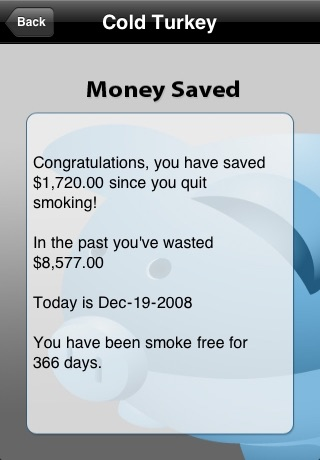 Quit Smoking - Cold Turkey (Lite Version) screenshot 2