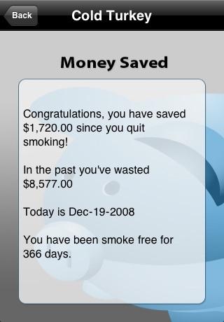 Quit Smoking - Cold Turkey (Lite Version) screenshot 2