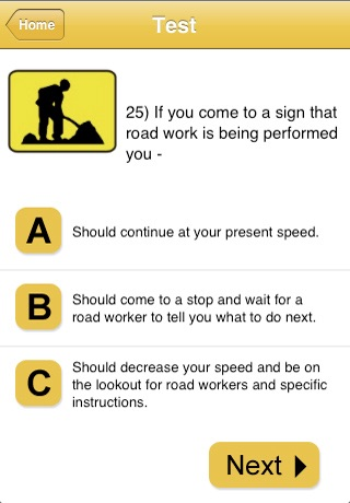 Australian Learner Drivers Test screenshot 3