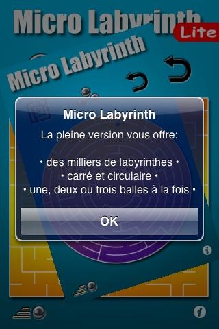 Micro Labyrinth Free screenshot 2