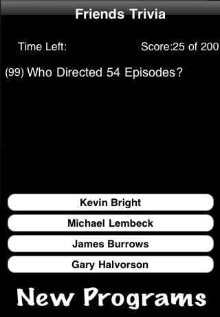 Friends TV Trivia screenshot 2