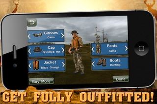 Screenshots of Deer Hunter Challenge for iPhone