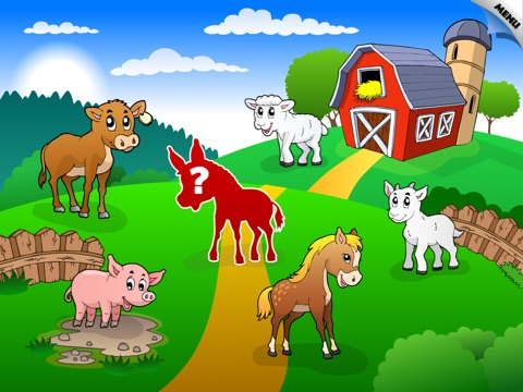 Abby Shape Puzzle – Baby Farm Animals and Insect screenshot 2