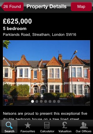 Nelsons Lettings and Sales Property Search screenshot 3