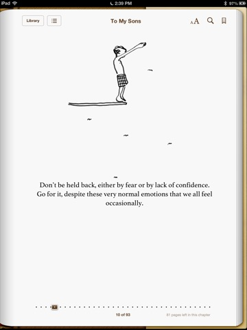 To My Sons By Bear Grylls On Ibooks