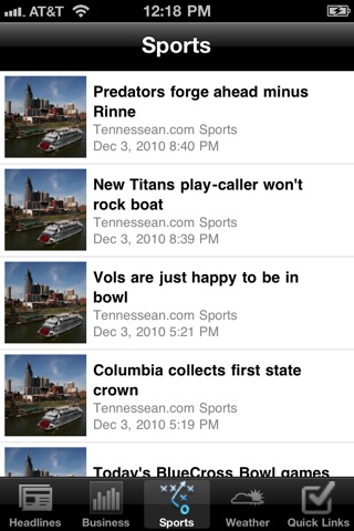 Nashville Local News Free screenshot 1