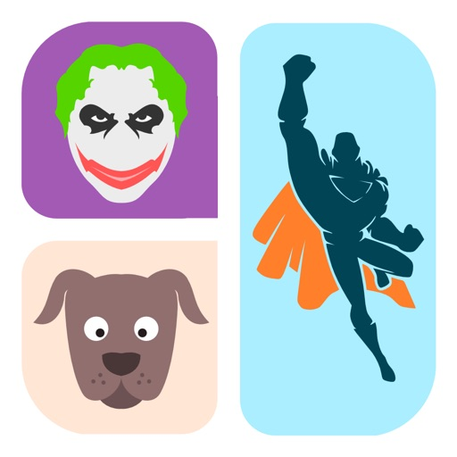 Best Icon Character Trivia Quiz - a game to guess what's the secret pop cartoon comic and celeb pic!