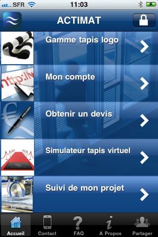 Tapis logo personnaliséCapture d'écran de 1
