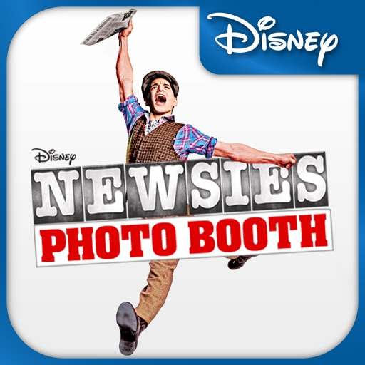 Newsies Photo Booth