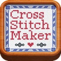 Cross Stitch Maker: Draw realistic embroidery for free eCards and more! icon