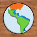 Kids Maps - South America icon