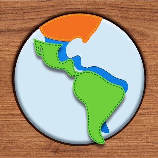 Kids Maps - South America