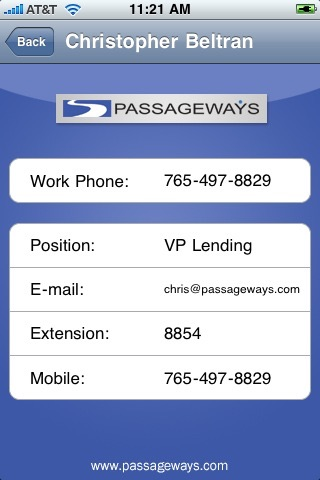 Passageways Mobile screenshot 1