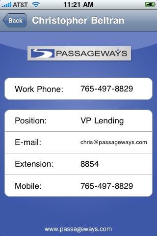 Passageways Mobile screenshot 1