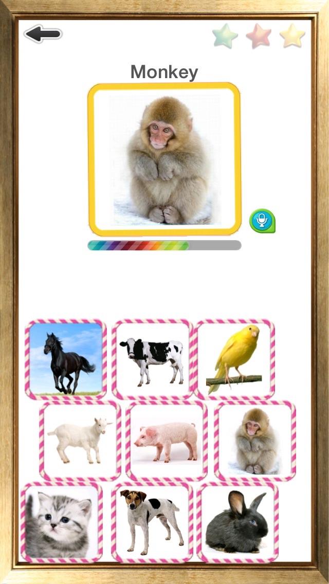 英単語カード – 楽しく初めての英語発音のスクリーンショット2