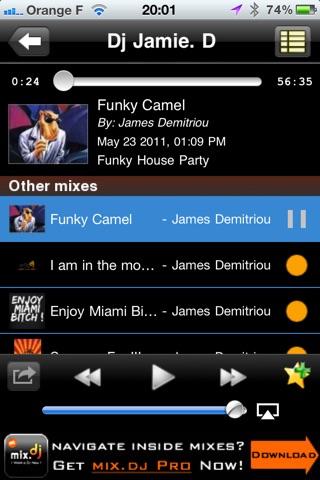 DJ Jamie D by mix.dj Screenshot on iOS