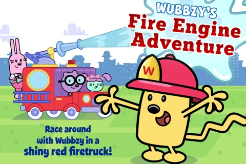 Wubbzy's Fire Engine Adventure screenshot 1