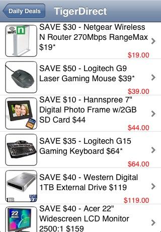 Daily Deals screenshot 3