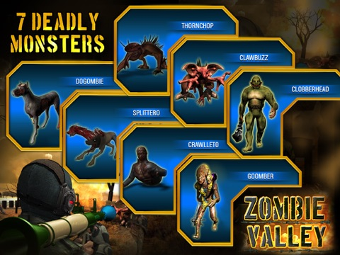 Zombie Valley HD screenshot 2