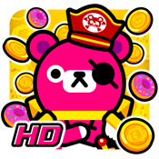 Pirate and Coins - Pinko Bear HD icon