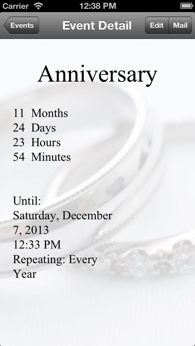 Countdown screenshot two