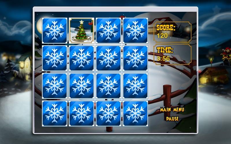 Reindeer Match'Em Up Screenshot