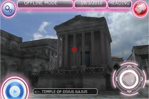 VOYAGER XDRIVE Roman Forum screenshot 2
