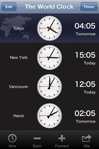 World Clock Badge screenshot 2