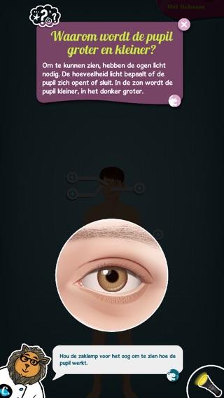 Het menselijk lichaam, uitgelegd door Tom - Ontdek Screenshot