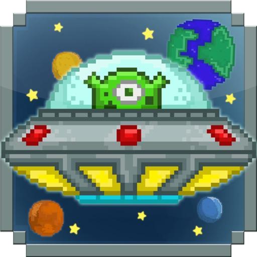 Bumpy UFO - An Alien Adventure Abducting Cows iOS App