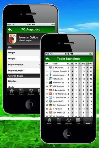 German Bundesliga 2011/12 - Lite screenshot 2