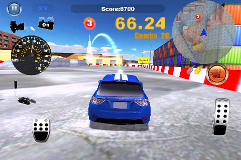 Gymkhana Hero Free screenshot 1