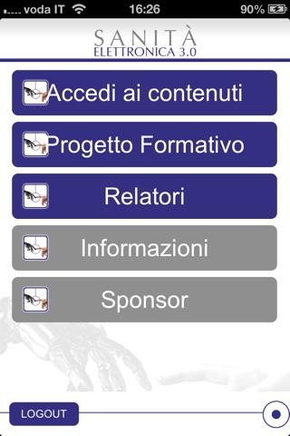 SANITA' ELETTRONICA 3.0 screenshot 1