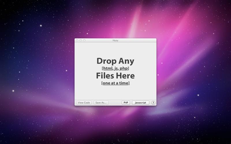 Hazy App für iPhone - Download für iOS aus Mihir Singh