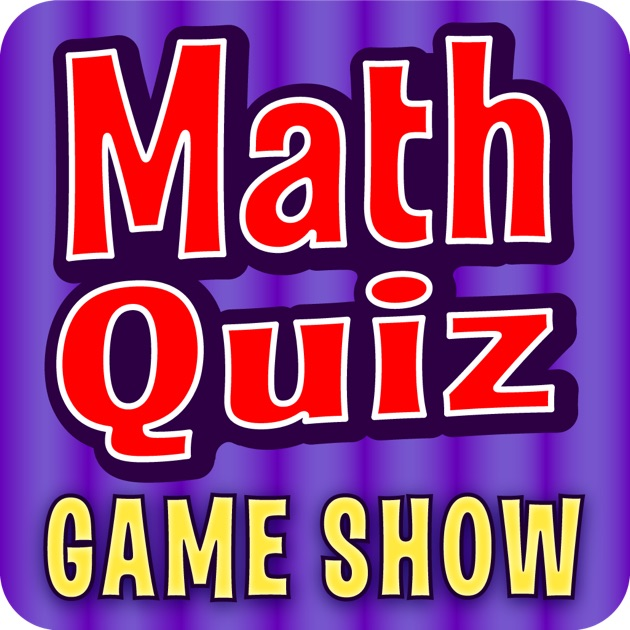 Math Quiz Game Show - Gr. 4-6 on the App Store