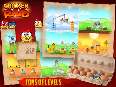 Chicken Raid HD screenshot 4