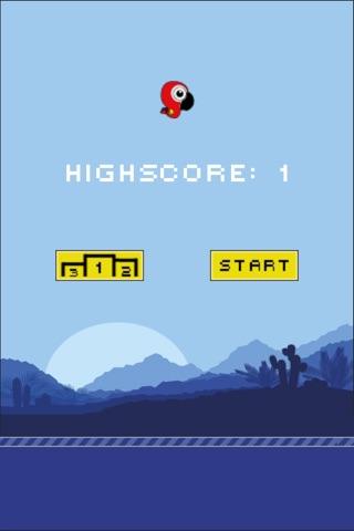 Flappy Parrot HD screenshot 2